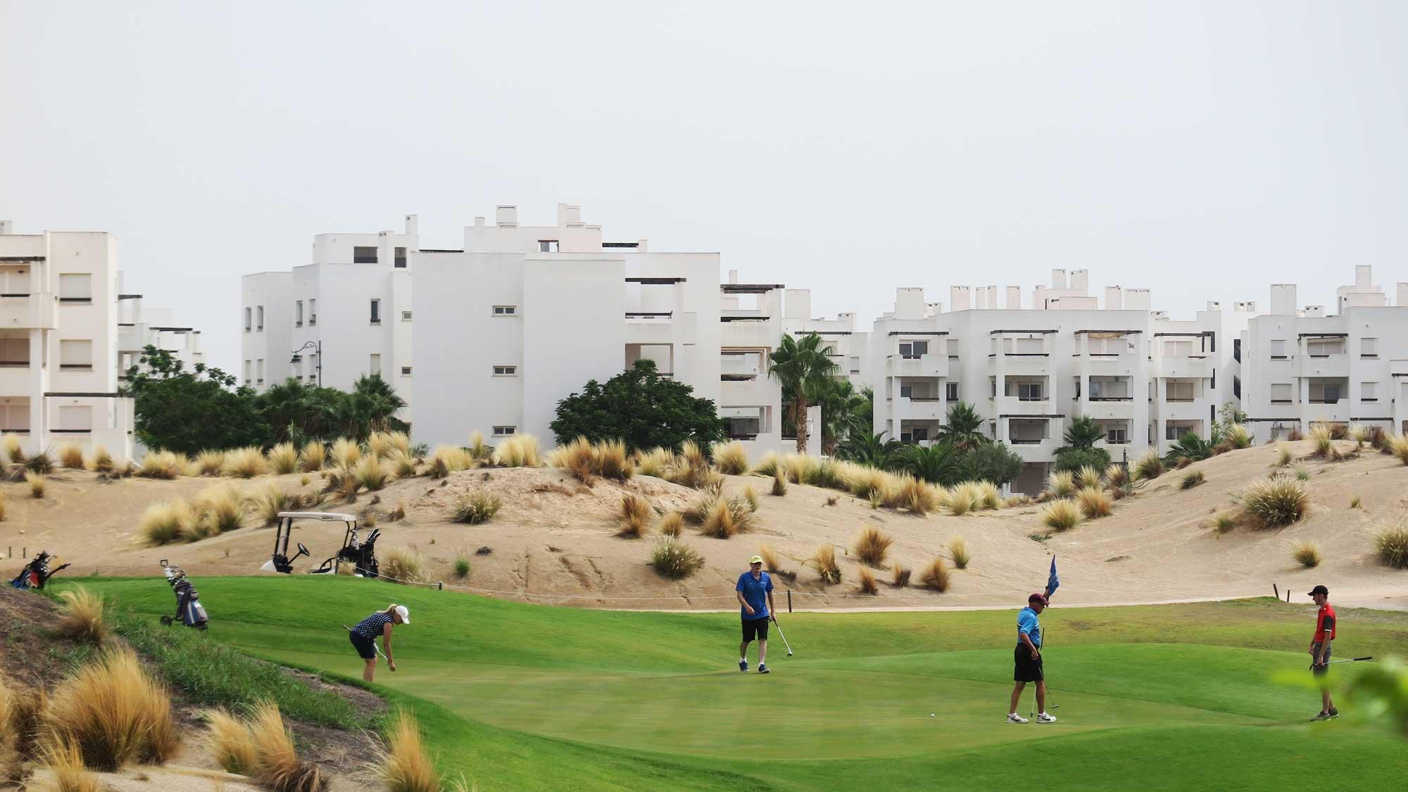 Saurines, el mejor campo de golf de Murcia